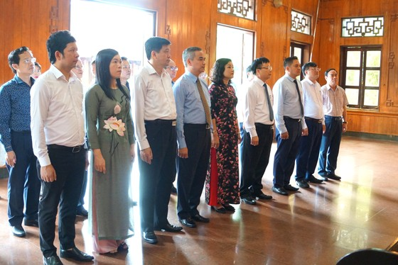 Saigontourist Group khánh thành, bàn giao 4 hạng mục đầu tư tài trợ tại Khu di tích Kim Liên ảnh 3
