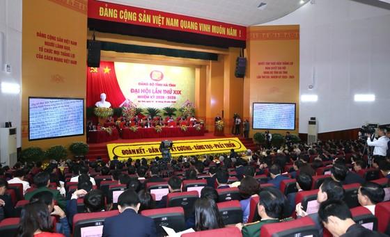 Khai mạc Đại hội đại biểu Đảng bộ tỉnh Hà Tĩnh lần thứ XIX ảnh 1