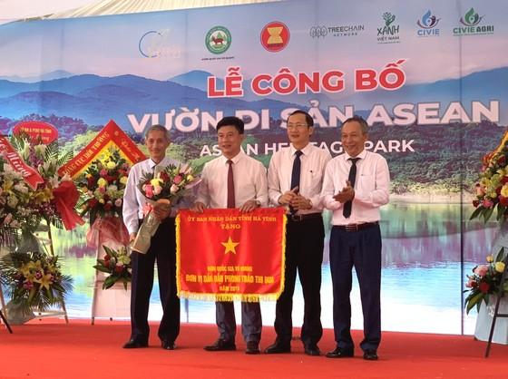 Vườn quốc gia Vũ Quang đón nhận danh hiệu Vườn di sản ASEAN ảnh 1