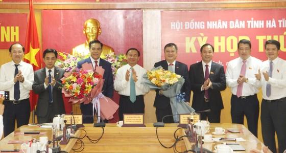 Ông Võ Trọng Hải được bầu giữ chức Chủ tịch UBND tỉnh Hà Tĩnh ảnh 1