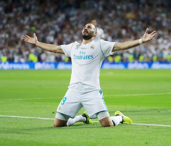 """Benzema vẫn bị HLV Deschamps ngó """"lơ"""". Ảnh: Getty Images"""