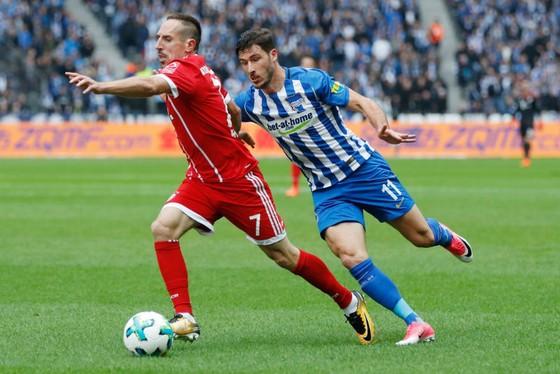 Franck Ribery (trái), một trong những cầu thủ chủ chốt của Bayern Munich sẽ vắng mặt trong trận đấu với Freiburg. Ảnh: Getty Images