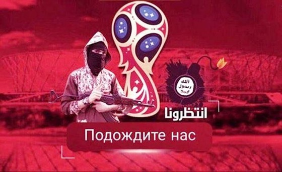 IS đe dọa tấn công World Cup 2018 ảnh 1