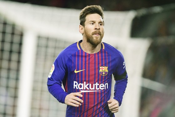 Messi luôn đem ác mộng cho Real tại Bernabeu. Ảnh: Getty Images