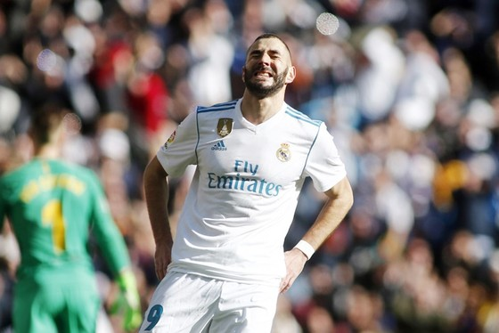 Nội bộ Real đang bất đồng vì Benzema. Ảnh: Getty Images