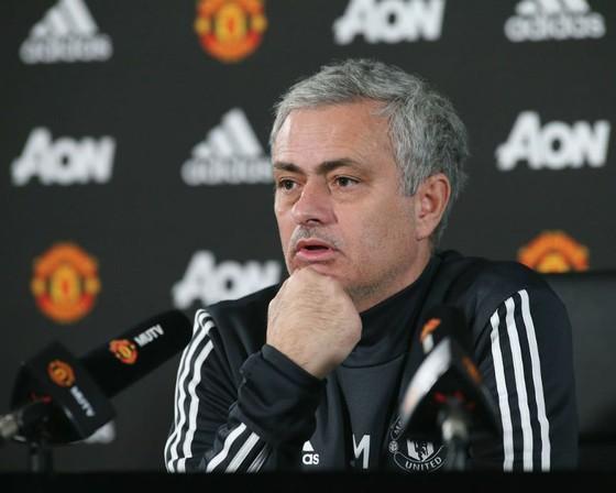 Jose Mourinho đã cam kết tương lai cùng Man.United. Ảnh: Getty Images