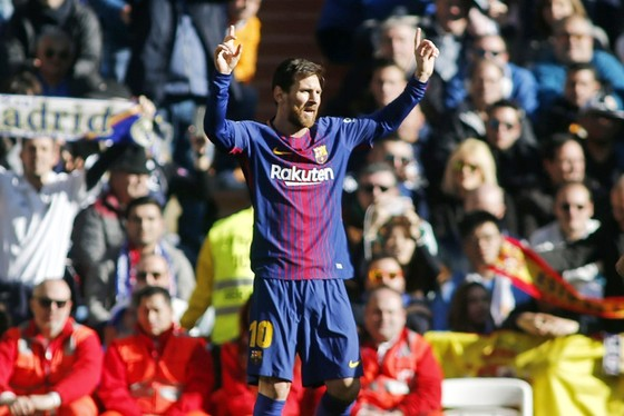 Messi có thể tự rời khỏi Barca nếu xứ Catalonia độc lập. Ảnh: Getty Images
