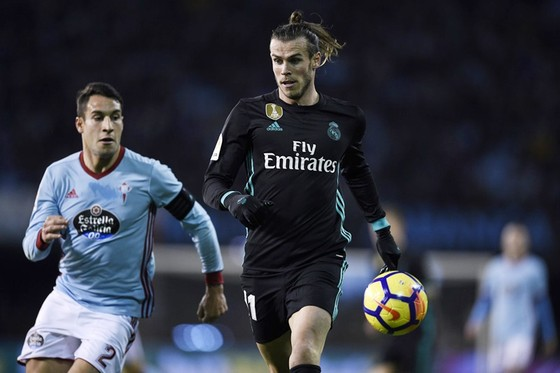 Bale (phải) ghi bàn, Real vẫn bị cầm hòa. Ảnh: Getty Images