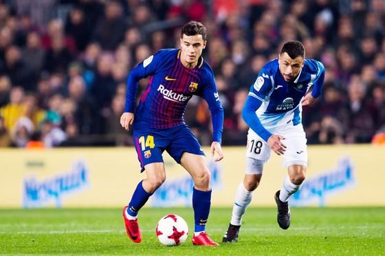 Coutinho có trận ra mắt tốt trong màu áo Barca. Ảnh: Getty Images