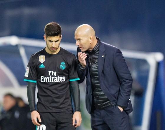Niềm tin Zidane đặt vào Asensio đã được đền đáp trong những trận gần đây. Ảnh: Getty Images