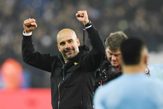 HLV Pep Guardiola giờ có thể đầy tự tin khẳng định về chức vô địch. Ảnh: Getty Images