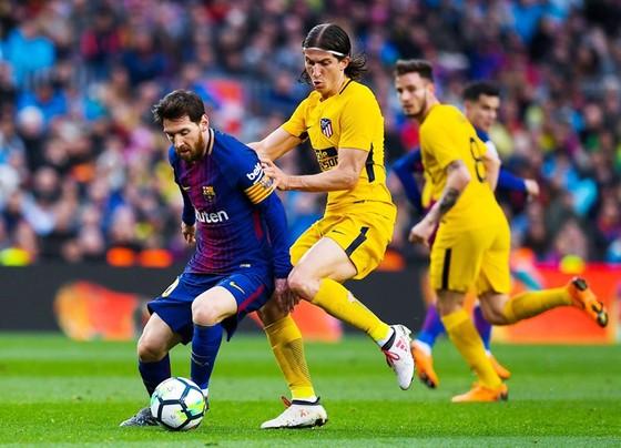 """Atletico """"không thua"""" Barca, mà thua vì Messi ảnh 1"""