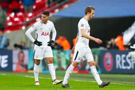 Cầu thủ Tottenham thất vọng sau thất bại trước Juventus. Ảnh: Getty Images