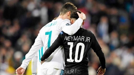 Neymar được định giá gấp 4 lần Ronaldo. Ảnh: Getty Images.