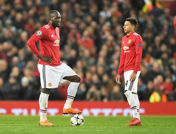 Cầu thủ Man.United thất vọng vì một trận cầu mờ nhạt. Ảnh: Getty Images