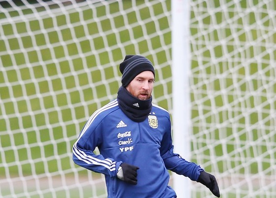 Messi đạt đến đẳng cấp mà HLV Sampaoli không thể dạy được nữa. Ảnh: Getty Images