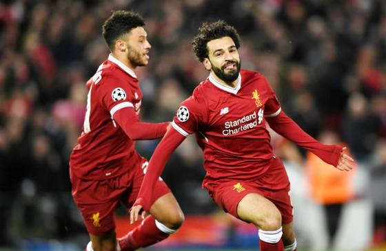 Mohamed Salah tiếp tục tỏa sáng, nhưng anh có ra sân ở lượt về hay không thì phải đợi. Ảnh: Getty Images