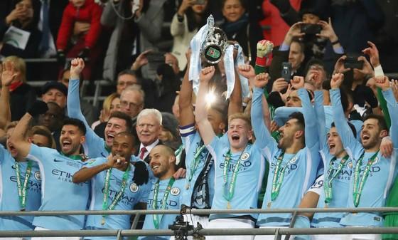 Sau Cúp Liên đoàn, Man.City đã chính thức bổ sung thêm 1 danh hiệu lớn nữa. Ảnh: Getty Images