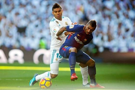 Real rất muốn đánh bại Barca để chấm dứt chuỗi trận bất bại của đối phương. Ảnh: Getty Images