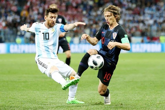 Messi đã không chứng tỏ được khả năng khi đối đầu với Croatia. Ảnh FIFA.