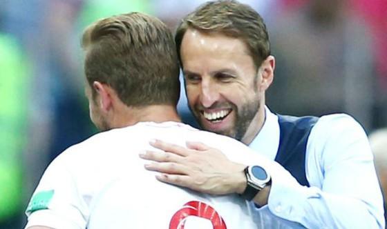 Gareth Southgate hạnh phúc khi sở hữu một chân sút hàng đầu như Harry Kane. Ảnh: Getty Images