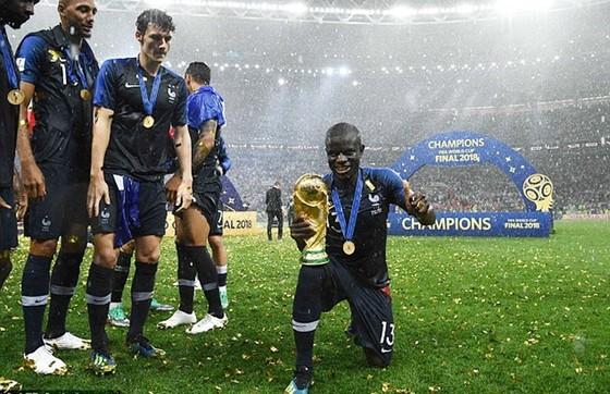 Kante đã có kỳ World Cup thành công cùng tuyển Pháp. Ảnh: Getty Images