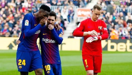 Mina (24) kể chuyện thua cược Messi. Ảnh: Getty Images