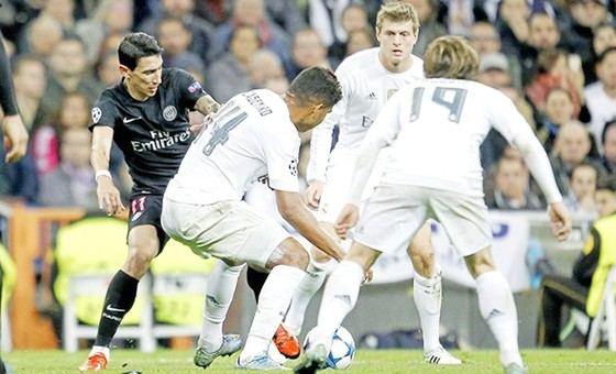 Bộ ba Casemiro - Kroos - Modric khó chơi cùng nhau nhiều ở mùa giải tới. Ảnh: Getty Images