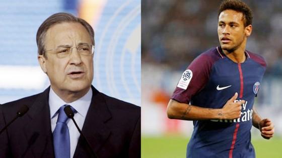 Perez vẫn chưa thôi tham vọng có được Neymar. Ảnh: Marca