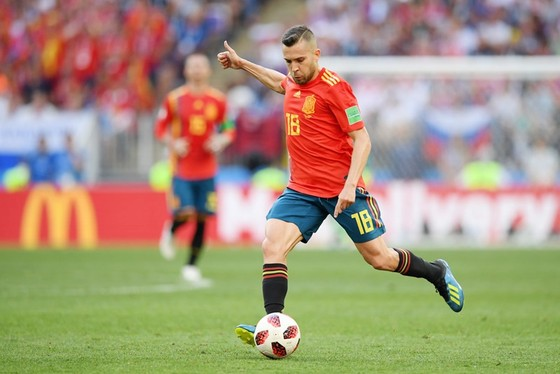 Alba bị loại khỏi danh sách triệu tập của HLV Enrique. Ảnh Getty Images.