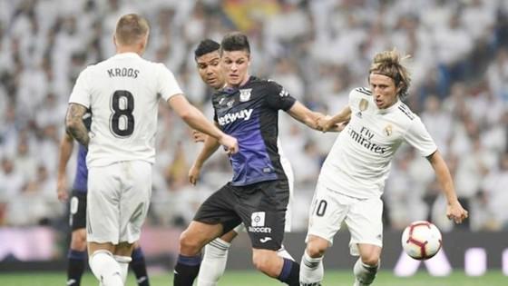 Tờ Marca đánh giá cao bộ ba tiền vệ của Real hiện tại. Ảnh Marca.