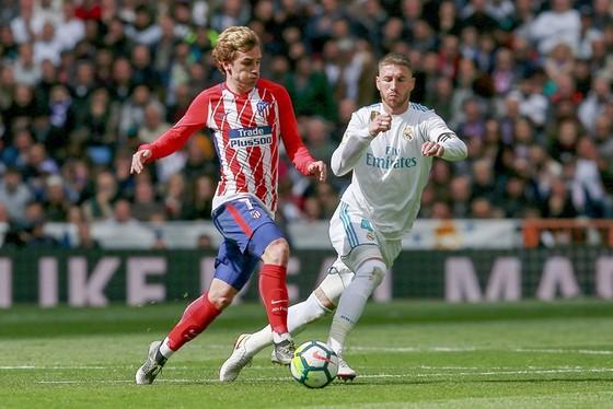 """Cuộc đối đầu giữa Ramos và Griezmann hứa hẹn đầy """"máu lửa"""". Ảnh Getty Images."""