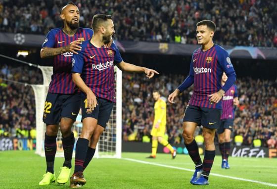 Barcelona vẫn biết cách chiến thắng dù thiếu Lionel Messi. Ảnh: Getty Images