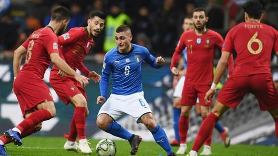 Bồ Đào Nha đã đạt được mục tiêu cầm hòa Italia để giành vé. Ảnh: Getty Images