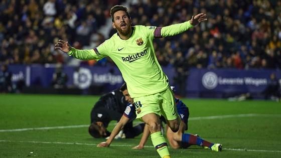 Lionel Messi tiếp tục tỏa sáng rực rỡ ở giai đoạn cuối năm. Ảnh: Getty Images