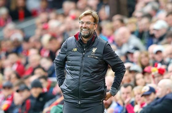 HLV Jurgen Klopp đang hạnh phúc khi chứng kiến Liverpool phát triển. Ảnh: Getty Images