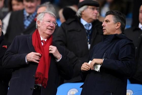 Sir Alex Ferguson trong một lần dự khán trận đấu của Man.United. Ảnh: Getty Images