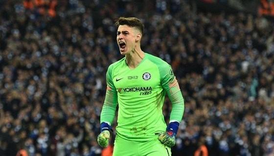 """Thủ thành Kepa Arrizabalaga có thể tạo nên """"cơn sóng ngầm"""" ở sân Stamford Bridge. Ảnh: Getty Images"""
