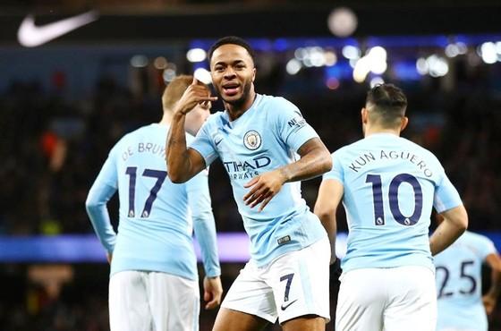 """Raheem Sterling tiếp tục cho thấy """"vận son"""" chiến thắng khi ghi bàn. Ảnh: Getty Images"""