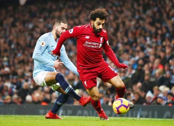 Với Mohamed Salah, vượt qua Man.City ở Premier League là ưu tiên số 1. Ảnh: Getty Images