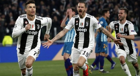 Atletico gục ngã trước thiên tài Ronaldo  ảnh 1