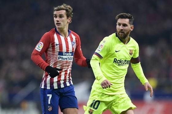 Antoine Griezmann sẽ sớm thành đồng đội với Lionel Messi? Ảnh: Getty Images