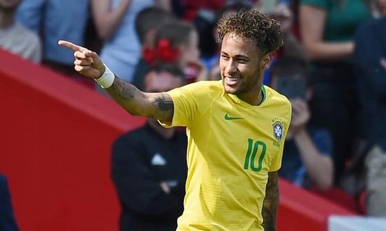 Neymar đang cho thấy quyết tâm chinh phục Copa America 2019. Ảnh: Getty Images