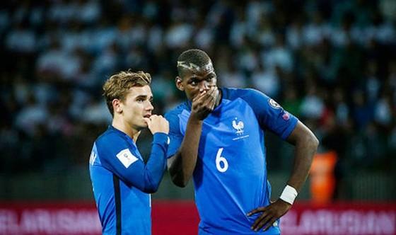 Antoine Griezmann (trái) là thương vụ cần phải thành công với Man.United. Ảnh: Getty Images