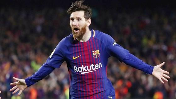 Lionel Messi hưởng lương cao nhất giới cầu thủ. Ảnh: Getty Images