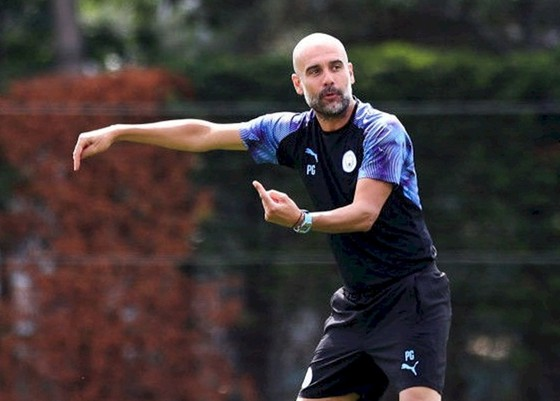 HLV Pep Guardiola sẵn sàng khởi động một hành trình chinh phục mới. Ảnh: Manchester City FC