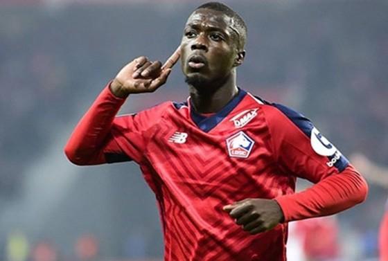 Nếu thành công có Nicolas Pepe, đó là bổ sung tuyệt vời cho Arsenal. Ảnh: Getty Images