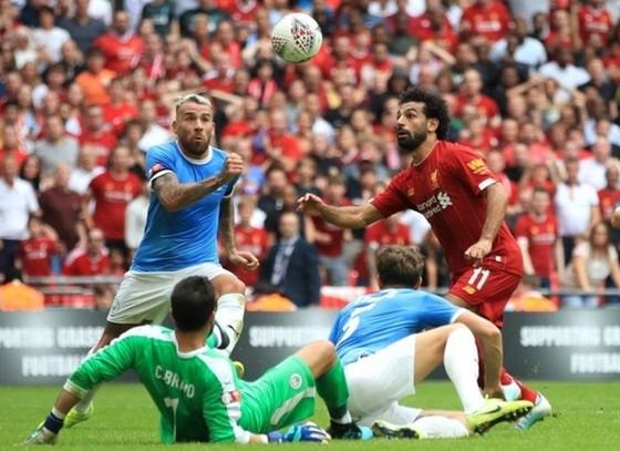 Man.City và Liverpool đã chính thức khởi động màn tranh đua căng thẳng. Ảnh: Getty Images