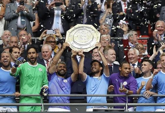 Man.City vừa bổ sung thêm một danh hiệu. Ảnh: Getty Images
