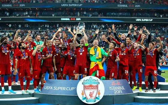 Liverpool thắng Siêu cúp châu Âu thứ 4 trong lịch sử. Ảnh: Getty Images